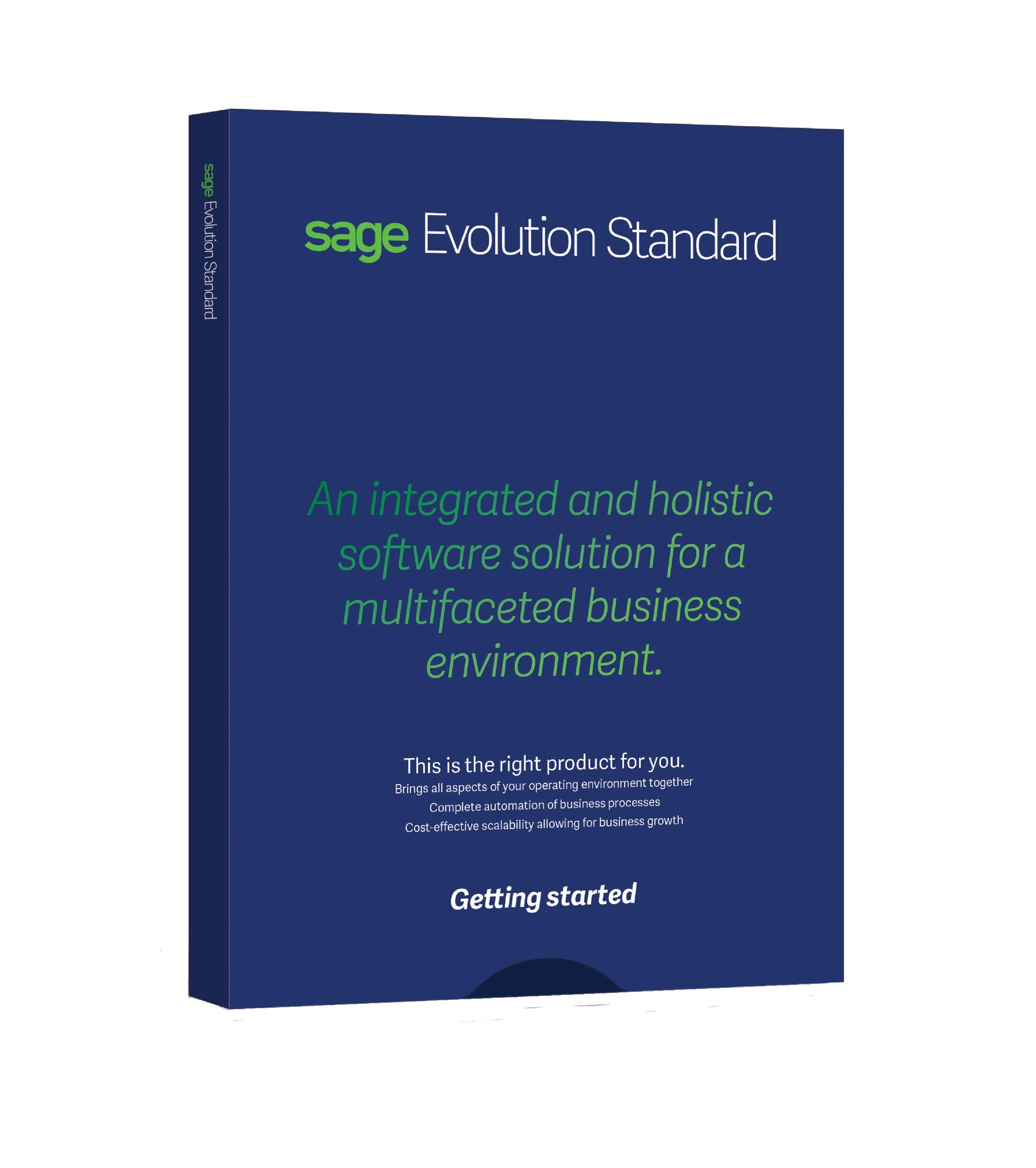 Sage Evolution ERP Standard