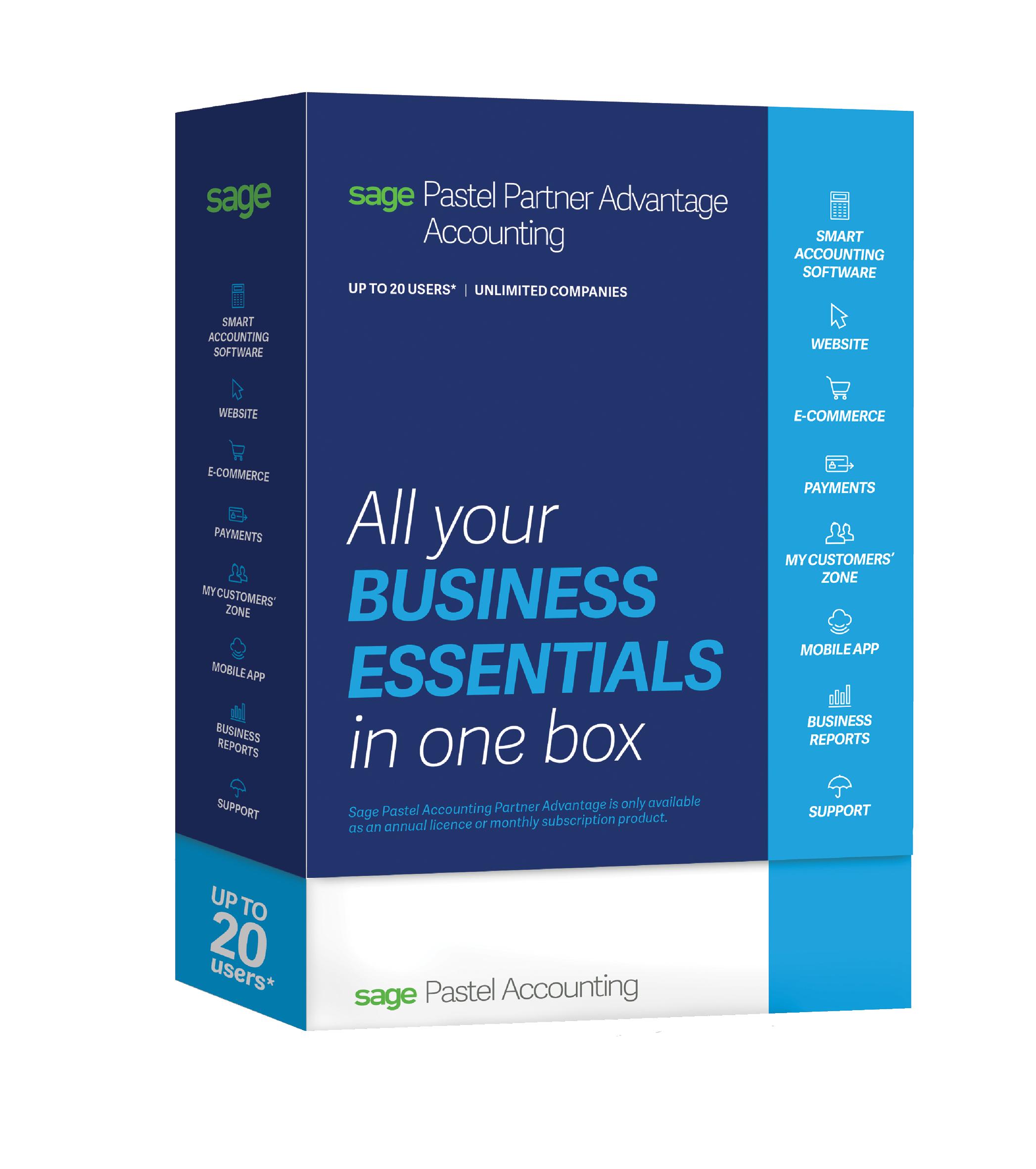 Sage Pastel Accounting Partner Adv