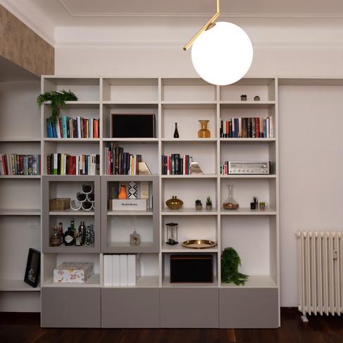 Living Room Bookshelf Gianluca Chiocca D