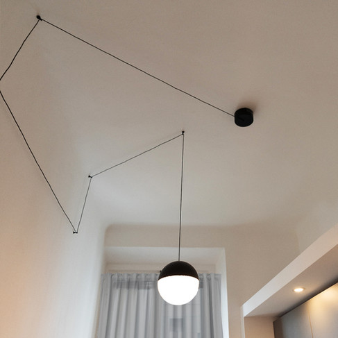 Flos Lighting Kitchen by Chiocca Design.