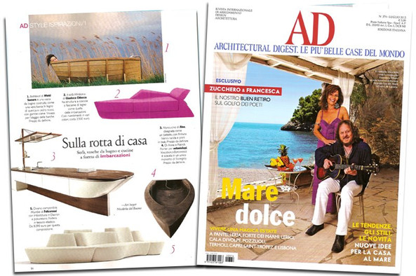 AD ARCHITECTURAL DIGEST - Magazine