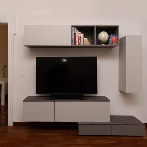 Living Room Tv Unit Gianluca Chiocca Des