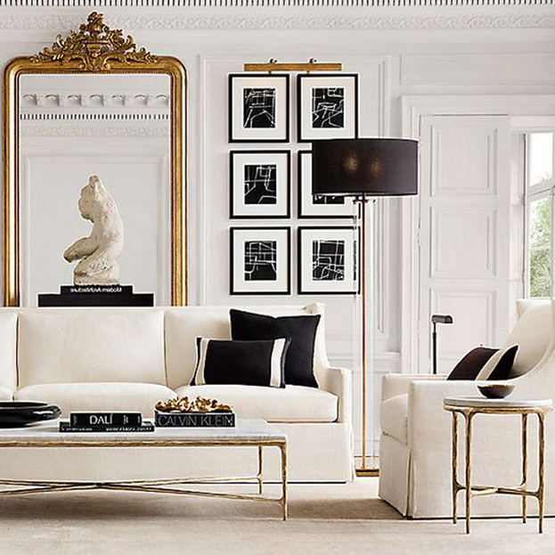 OffWhite Living Room Inspiration