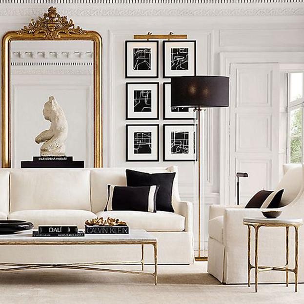 OffWhite Living Room Inspiration