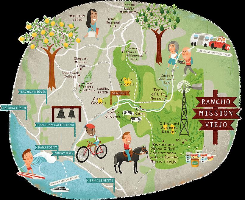 illustrated-community-map