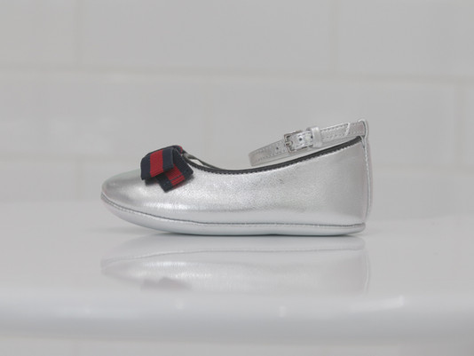 GUCCI_ballet flat with web