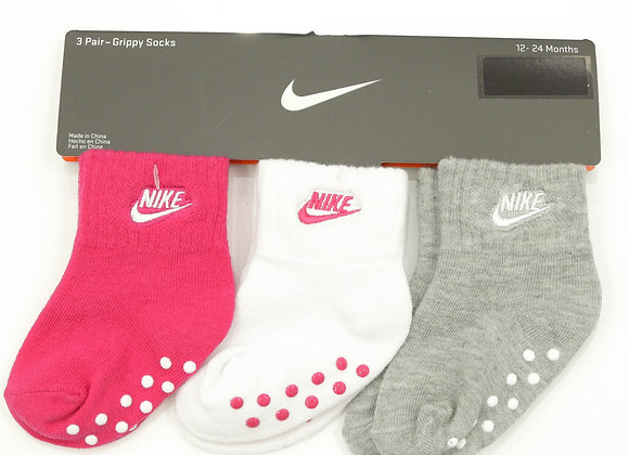 NIKE socks gripy 3 Pack (12-24ヶ月)