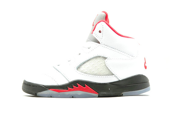 "Jordan 5 Retro ""FIRE RED"" (WT/BK)"