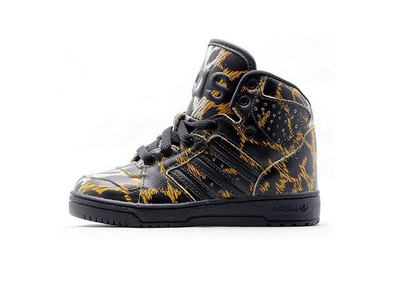 Adidas ObyO JEREMY SCOTT Instinct Hi Leopard 【13.5cm】
