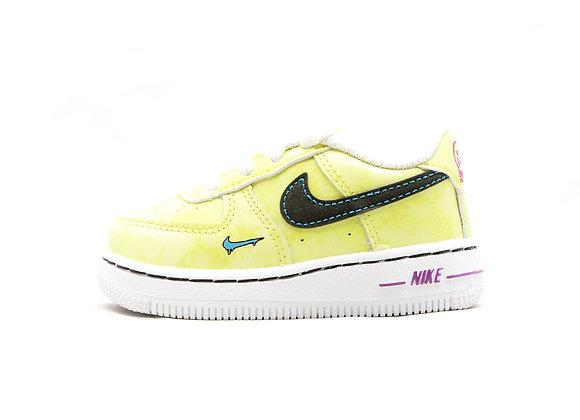Nike Force 1 LOW LV8 TD (YL/BK/WT)
