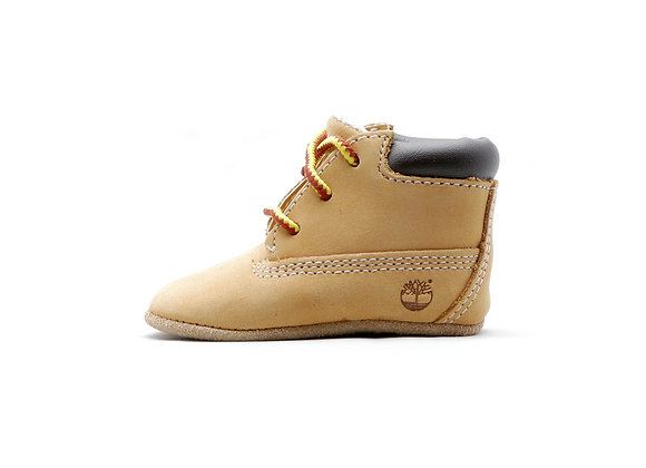 Timberland Crib With Hat Bootie (BW)