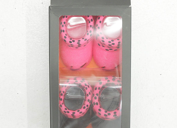 NIKE DOT 2pcs Socks Box Set  (0-6ヶ月)