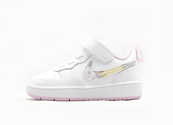 NIKE COURT BOROUGH LOW 2 (WT/PK)