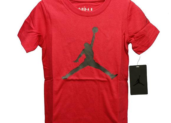 JORDAN JUMPMAN Tシャツ (RD/BK) (4-5歳)