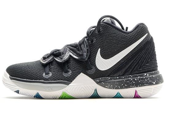 Nike Kyrie 5 (PS) BK/WT【17cm】