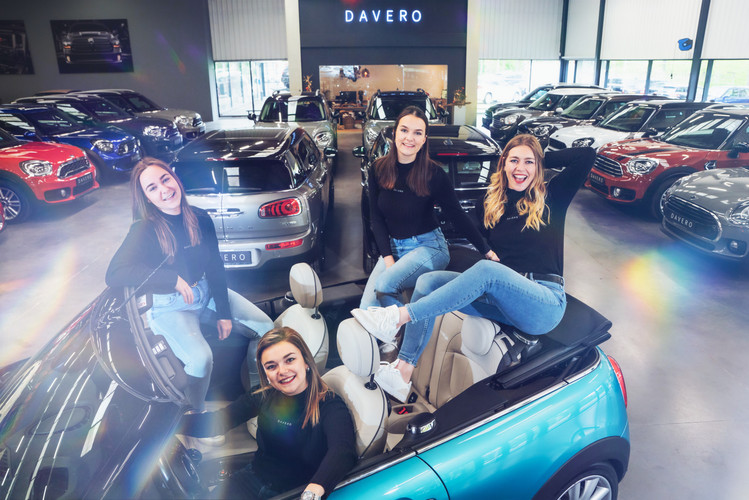 Showroom van Davero