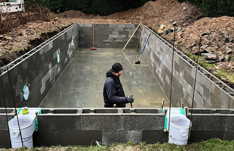aanleg zwembad