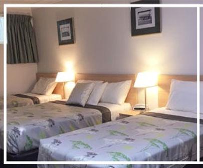 Motel Room Beds