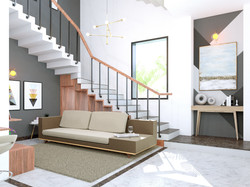 Bungalow-Double Height Living area