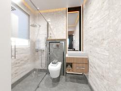 2BHK Interior-Bathroom