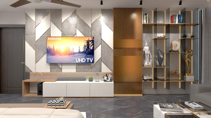 Master Bedroom-TV Unit