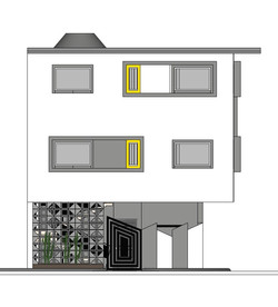 Fenestration Drama-Front View