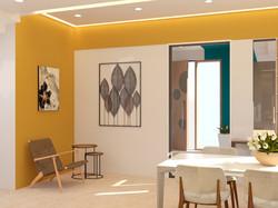 Bungalow-Interior living areas