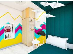 2BHK Interior-Kids Bedroom