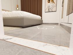 2BHK-Bed Room-Flooring Details