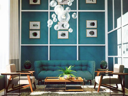 Double Height living room design