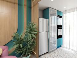 2BHK Interior-Kitchen