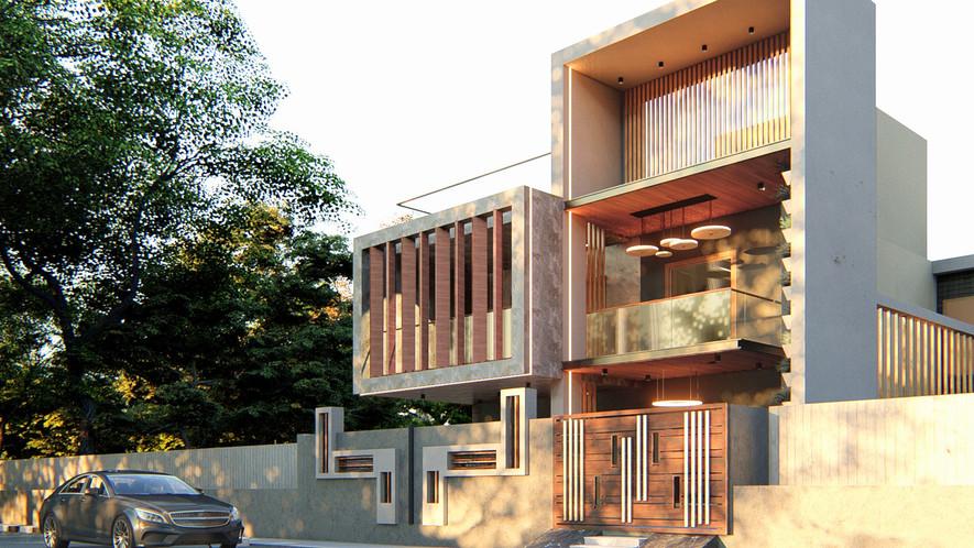 G+1 Elevation Design