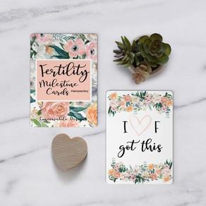Infertility Milestone Cards