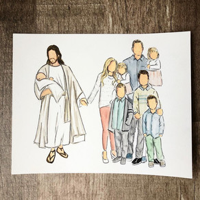 Miscarriage Water Colors
