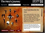 Interactive Story Arc App - Hero's Journey