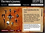 Interactive Story Arc App - Hero's Journey