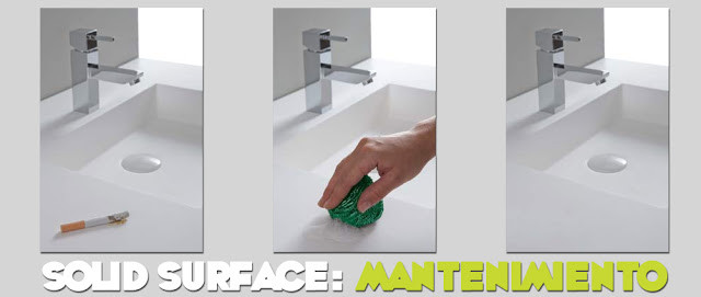 Solid Surface mantenimiento