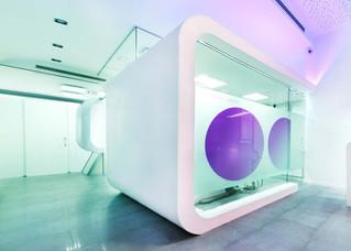 Solid Surface Krion material idóneo para centros médicos y laboratorios