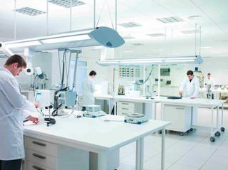 Krion Gibraltar en laboratorios y centros médicos