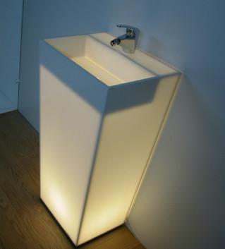 Diseño de lavabos para quirófanos en Solid Surface
