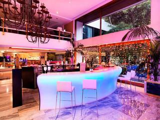 Barras de bar retroiluminadas para bares y restaurantes