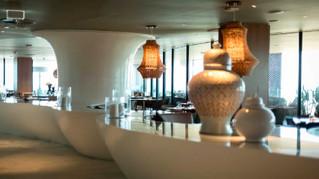 Mesas de buffet para restaurantes. Originales y creativas