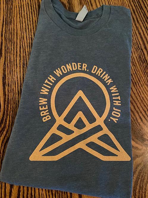 Blue Logo T Shirt