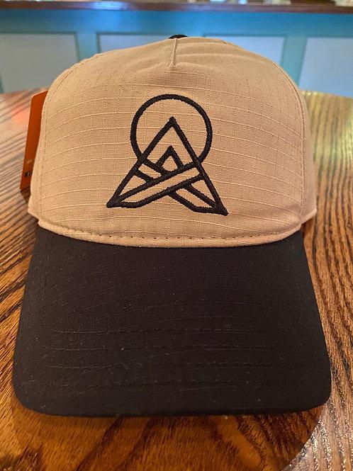 Khaki/Black Hat