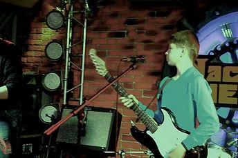 Гитарист Андрей Котов (Рок-Клуб «Machine Head», 20.11.2016г.)