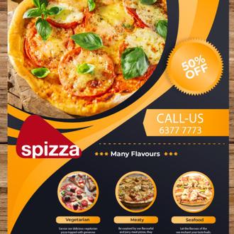 Spizza Flyer