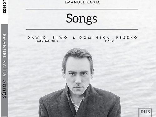 Emanuel Kania Songs ( Biwo, Peszko) CD
