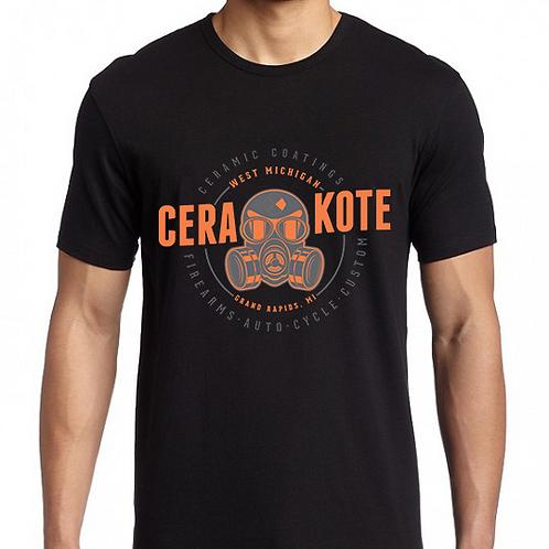 Men's Cotton T-Shirt - Gas Mask
