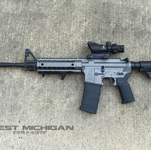 Bushmaster XM-15 ORC in H-237 Tungsten a