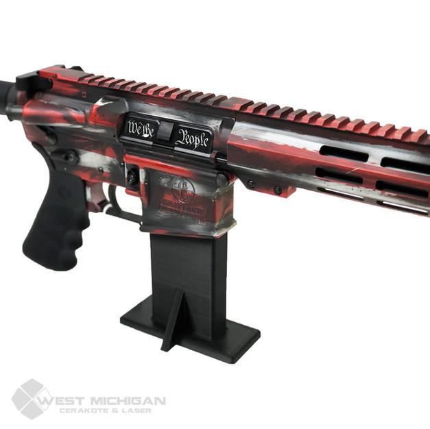 American Flag Gun - We the People dust c